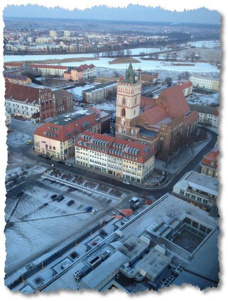 Frankfurt Oder Februar 2012 - Kalt