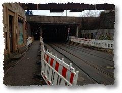 Frankfurt Oder Februar 2012 - Tunnel Bahnhof
