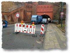 Frankfurt Oder Februar 2012 - Tunnel Grosse Müllroser Strasse